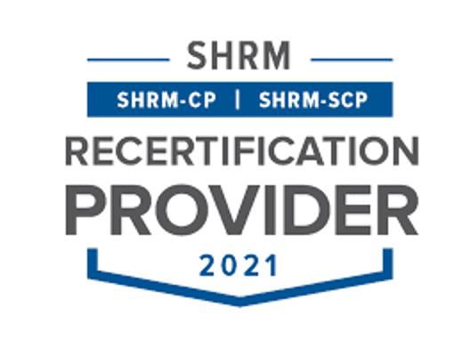 SHRM Recert Provider Seal
